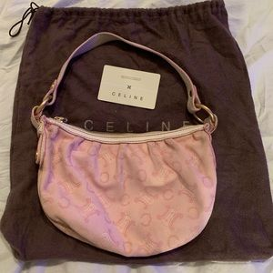 Vintage soft pink Celine bag from 2005-2006